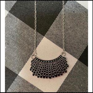 RBG Ruth Bader Ginsburg Dissent Collar Necklace